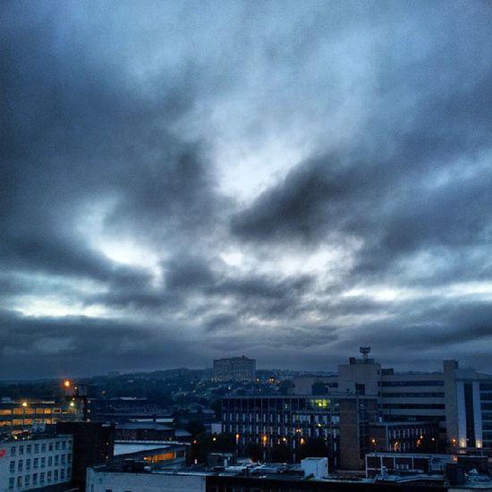Sheffield Stormy Stormysky Cityscape