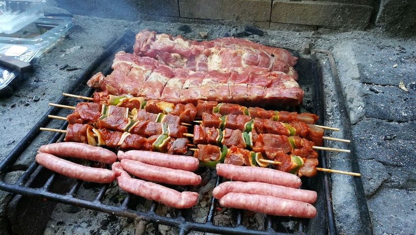 Parrillada BBQing BBQ Time BBQ Costillas Costillar Morcilla Salchichas Healthy Eating Outdoors Food Nature No People Monte Parrilla Parrillita Party - Social Event Asado Parrillada