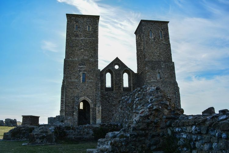 Reculver Roman Fort Ladyphotographerofthemonth Streamzoofamily The Purist (no Edit, No Filter) Perspective Architecture Landmarks Taking Photos Eye4photography