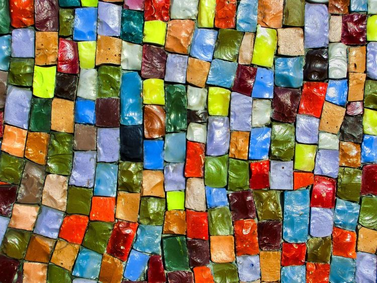 Mosaic Texture Textures and Surfaces Background Smalto Smalt Multi Colored Backgrounds Colorful Full Frame Variation No People Indoors  Day Close-up