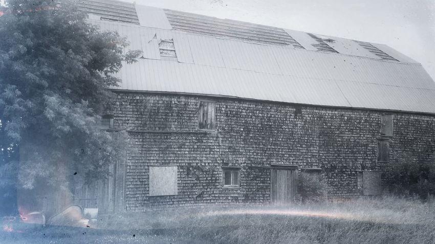 Mist Old Barn Mystical Countryside Eerie Beautiful Fog History Through The Lens