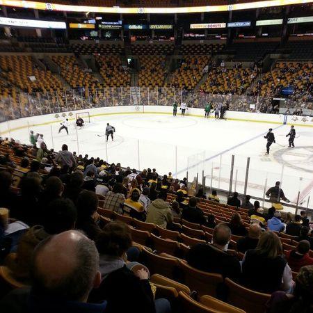 The #Bruins running drills. Bruins