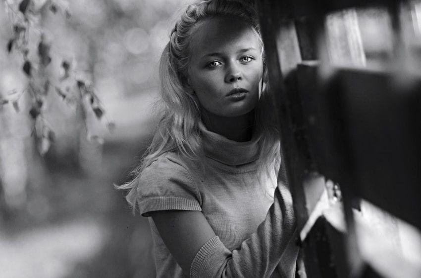 Portrait Of A Friend Blackandwhite Black And White Black & White Portrait Girl Beautiful Beauty DmitryBarykin