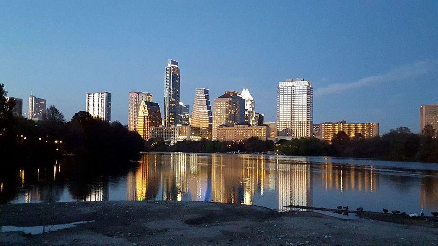 Austin Skyline Downtown Austin Austin Texas Cityscape City Lake Austin City Life The Great Outdoors - 2017 EyeEm Awards