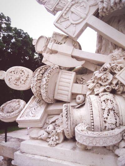 Schönbrunn Statue Simple Vienna_city Architectural Detail Austria Minimalism Home Is Where The Art Is