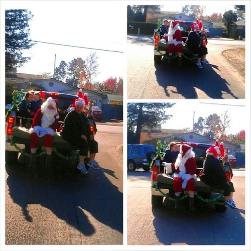 Christmas in my Hood Rpna Raynorpark santa booglovesthekids