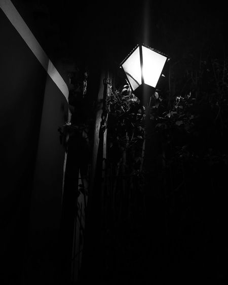 The light of you'r soul is dead Night Light And Shadow No People Outdoors Close-up Lights Streetphotography Black And White Photography Illuminated Dark Lights And Shadows Tanu
