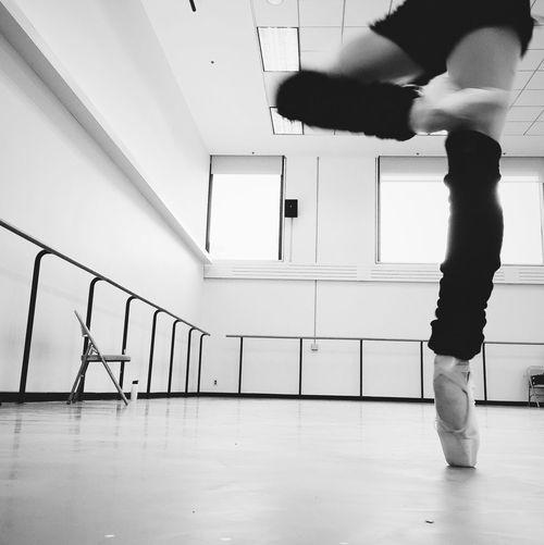 Passé Blackandwhite Ballerina NewYorkCityBallet Rehearsing Jeromerobbins Thecage Creature Dance