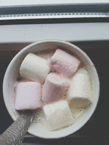 Marshmallows Candy Yummy Marshmallows Coffee Colors