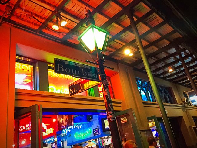 The always interesting.. Exploring New Ground Traveling Feet Southern Charm Fall Days Share Your Adventure Beautiful Swamp Make Magic Happen Bourbon Street Neworleans Color Explosion All The Neon Lights