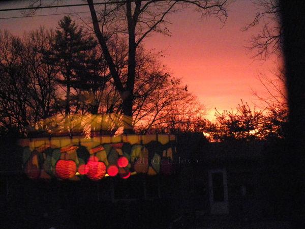 Accidental Shot Chandelier Double Exposure Doubleexposure Lamp Lights Sunrise Sunrise Or Sunset?