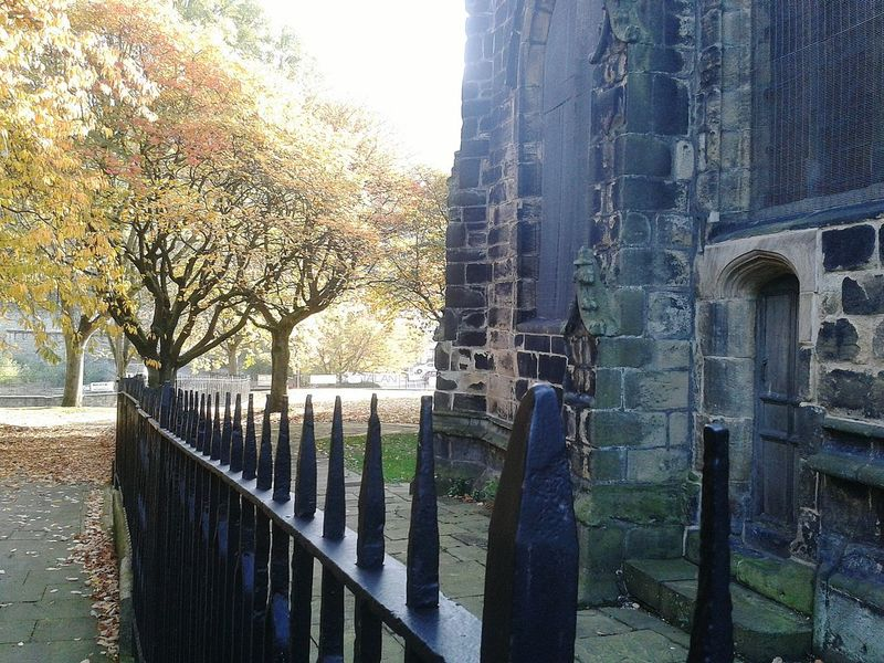 Autumn Leaves Autumnbeauty NaturalBeauty Ironrailings Valley Autumn Pathways Praying Walking Around Stonework