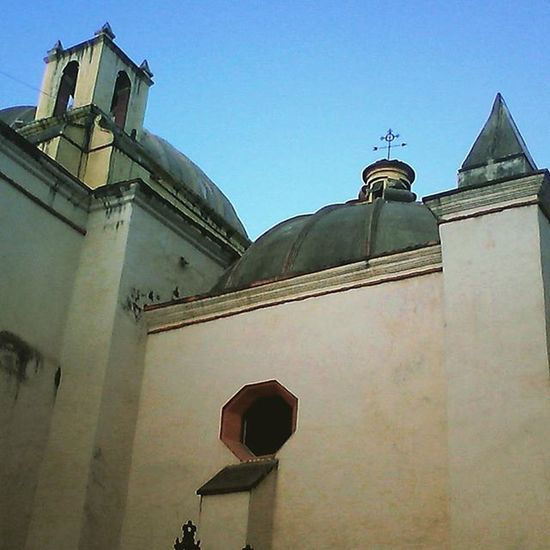 Church Iglesias Chiapas Santodomingo Sancristobal Mexico Atardecer
