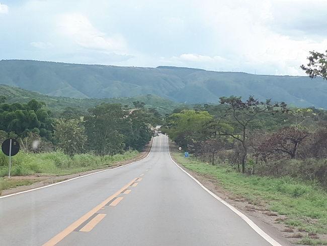 Tree Road Landscape Mountain Outdoors The Way Forward Cloud - Sky EyeEmNewHere