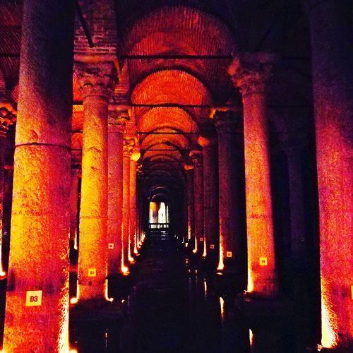 Basilica Cistern History Basilica Cistern Architecture Arch The Way Forward Day