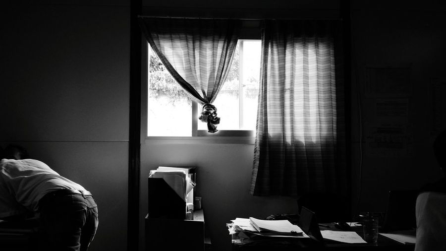 relax Working Working Hard Wind Still Life Window Domestic Room Hanging Domestic Life Home Interior Window Bedroom
