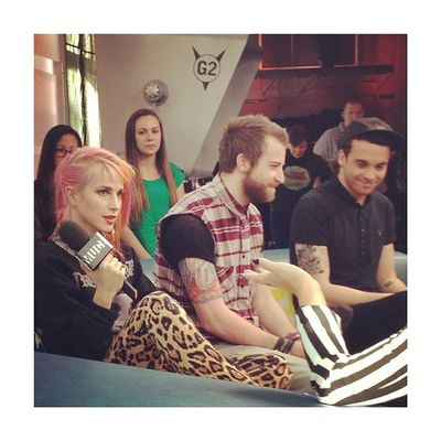 That time I met Paramore, touched Hayley and lived to see them live. Bestof2013 that's all for today bye.