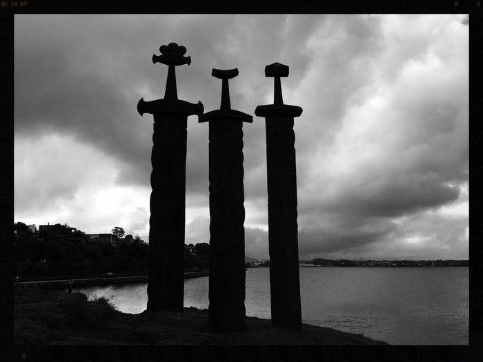 #SwordsInRock #Hafrsfjord #Norway