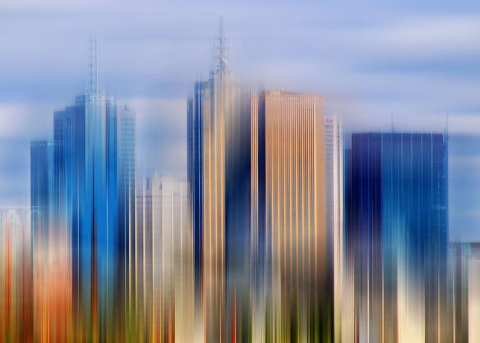 Art Art Photograpy Blurred City, Urban, Skyline Cityline Cityscape Daylight Design Dreaming East Side Melbourne Melbourne City Skyline