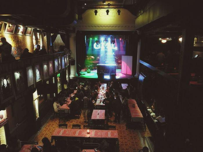 Night Dark Multi Colored Gaira Disco Show Vivamexico Bogotá Colombia Carlos Vives Boom!