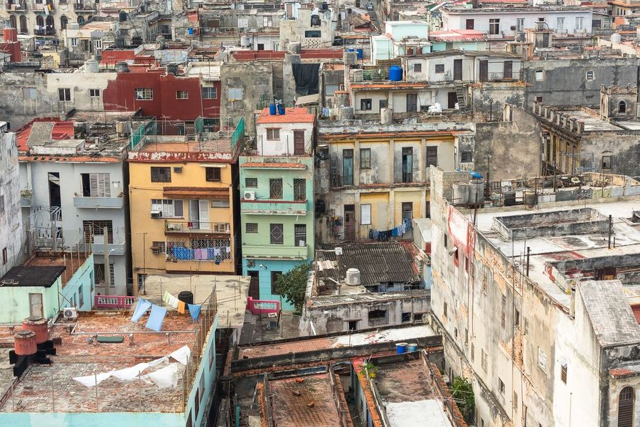 A view of a neighborhood of Havana Cuba from the building where I stayed. Cuba Travel Havana Building Exterior Architecture Built Structure City Building Residential District Day Cityscape No People