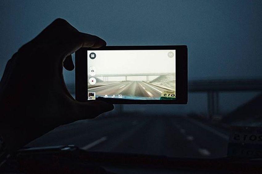 Road Roads Fog Travel Morning Nikon Nikon_photography_ Photo Friday Inmove Lenovo Arm Bridge