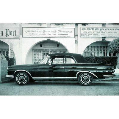 Classic Mercedes. Photography Instagram SPAIN Estepona Igwales Vintage
