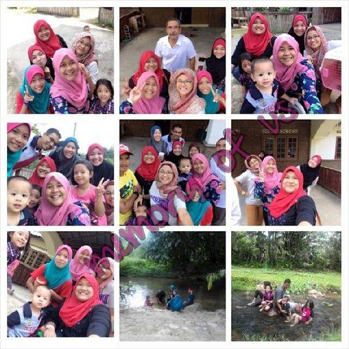 Pengalaman yg sekejap .. Alhamdulillah amat menyeronokkan .. Jandabaik ShahFamily Love Happy siblings family