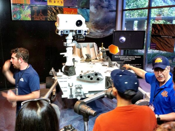 Science Robots Curiosity Rover