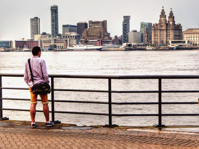 In anticipation of the golden hour, Bad Weather In Liverpool Liverpool Docks,Liverpool View Taking Photos