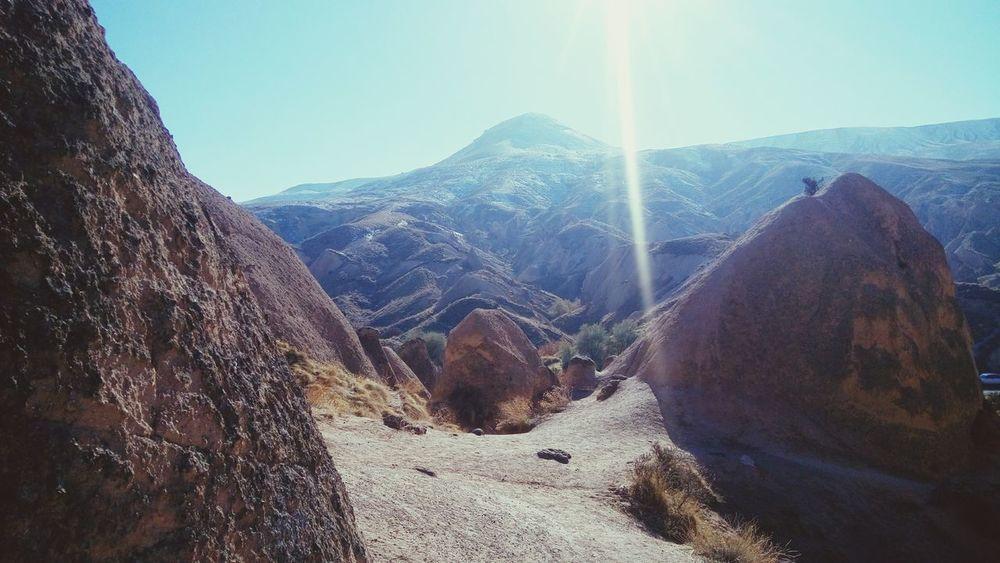 Mountain Nature No People Beauty In Nature Cappadocia/Turkey Cappadociasunrise Cappadoccia