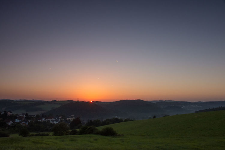 Beauty Beauty In Nature Daun-Neunkirchen Eifel Landscape Morning Nature No People Outdoors Scenics Sky Sonnenaufgang Sunset Travel Destinations