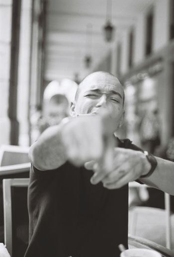 YOU ! Contax 35mm Ouverture Noiretblanc Blackandwhite Streetphotography Ishootfilm Filmisnotdead You RePicture Masculinity Portrait Portraitist The Week On EyeEm