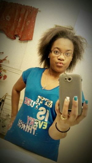 Curly Hair Straight Hair ,been W/o A Perm For Three Months