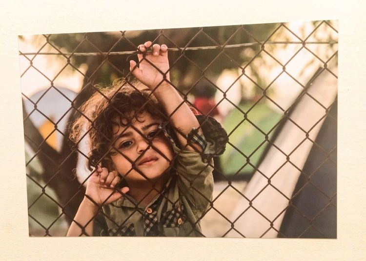 Every child deserves a future   Ai WeiWei Savethechildren  Refugeeswelcome Lesvos Greece Syria  Childhood Resist
