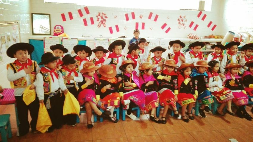Festival in the school Large Group Of People Child Texture Perú ❤ Festival Of Colors Festival Colorful Indoors  Boys And Girls Dance Photography Dance Dance Floor Teacher And Student People Full Length Day Adult Architecture Paint The Town Yellow