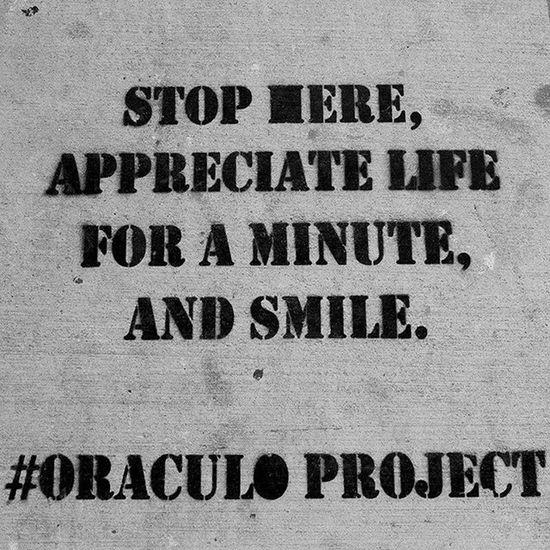 APPRECIATE Smile Life Oraculoproject Miami Wynwood Art