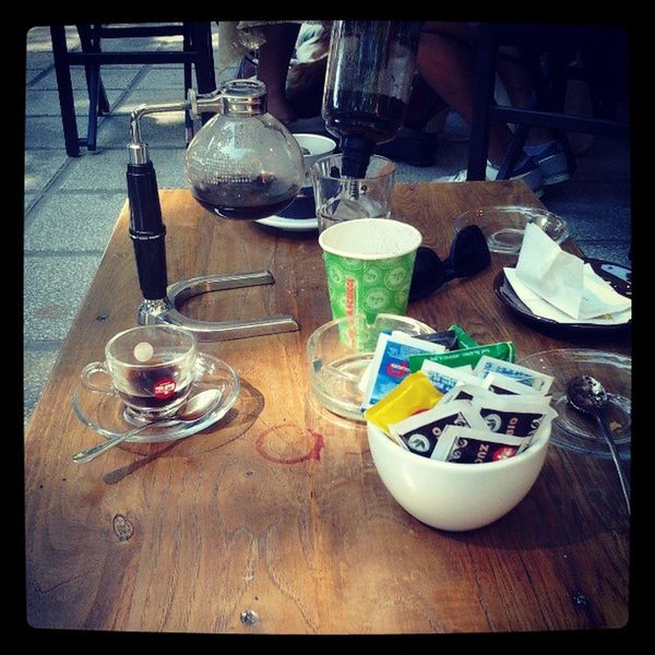 Syphon @ TheCoffeeBox Coffee Pascucci Syphone Coffe
