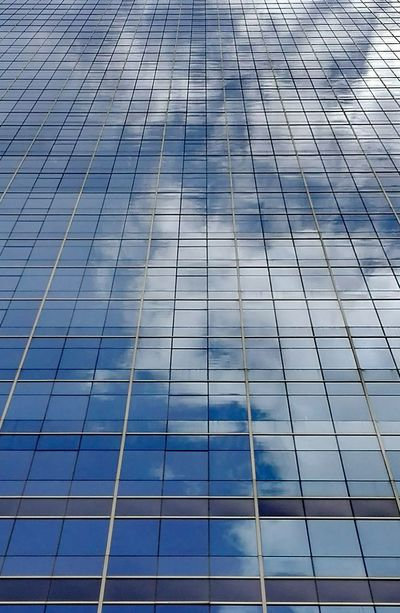 Full Frame Backgrounds Pattern Architecture Built Structure No People Low Angle View Modern Day Outdoors Building Exterior Skyscraper Sky