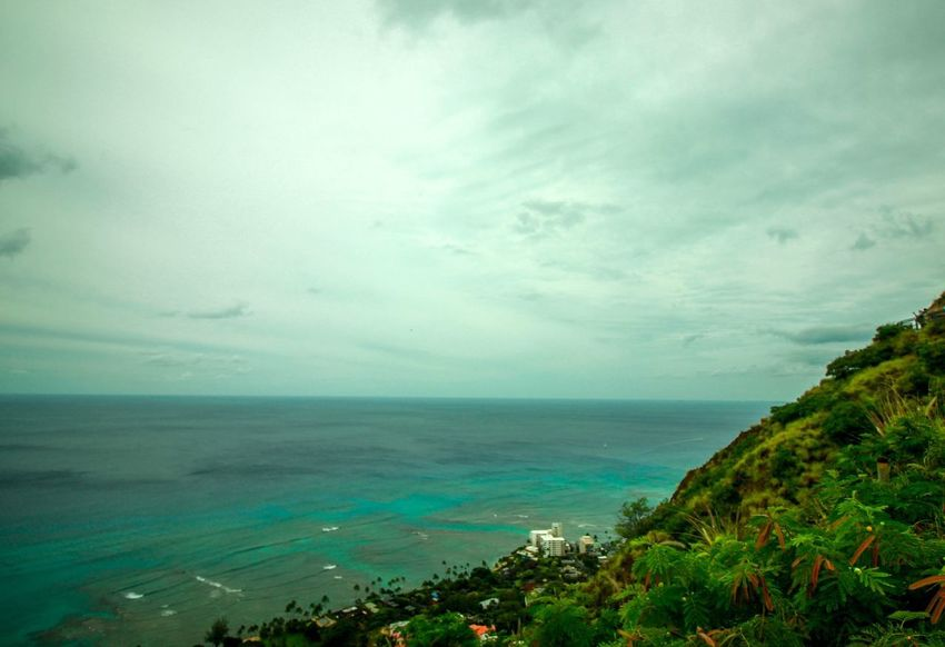 Mountain Climbing Water Sea Sky Cloud - Sky Beach Scenics - Nature Beauty In Nature Tranquil Scene Environment Outdoors Land Nature