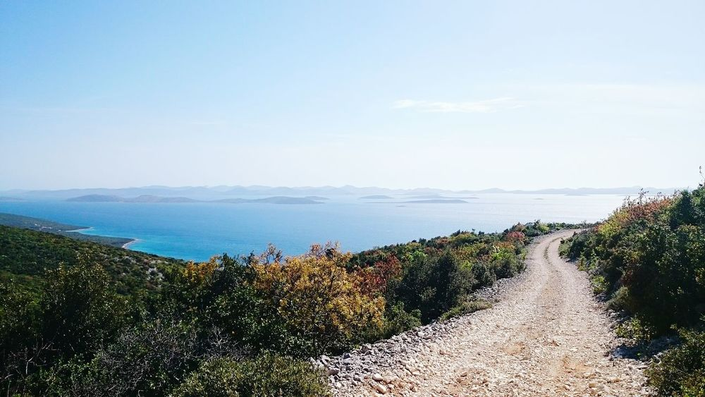 Beautiful nature... Sony Xperia Z2 Cellphone Photography Croatia Beautiful Nature Sea And Sky Sony Xperia Photography. Island Cellphonephotography Pasman Islands Road Beautiful View Bycicle Ride Bycicle Nature_collection Croatia2014 Adventure Deserted Road Sunny Day Seaside Challange May Showcase May 2015 Blue The Great Outdoors - 2016 EyeEm Awards