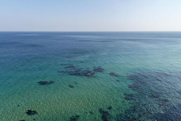 Sea view of Sun Cruise Resort at Jeongdongjin, Gangwondo, South Korea Beach Beauty In Nature Day Horizon Over Water Jeongdongjin Nature No People Outdoors Sand Scenics Sea Seaside Sky Water