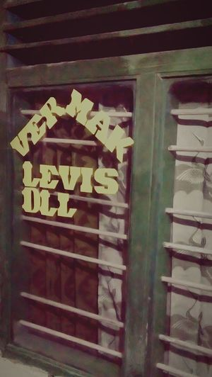 Vermak Levis In Indonesia ^-^