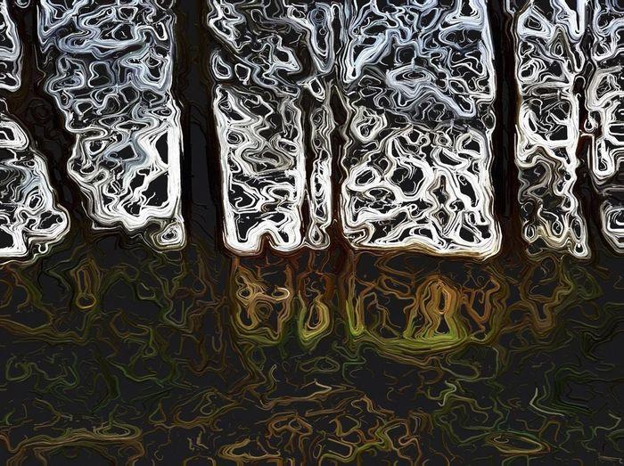Trees, edited using Glaze.