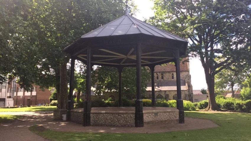 The Gazebo in Brenchley Gardens, Maidstone. Amateurphotography Amature Architecture Beauty In Nature Building Exterior Built Structure Communal Day EyeEmNewHere Garden Garden Photography Gazebo Grass Growth Nature No People Outdoor Outdoors Park Tree