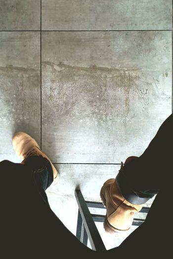 OK GO Timberlandshoes Timberlandicon6 Shoe Human Body Part Lifestyles Sitting Low Section Real People EyEmNewHere Personal Perspective Eyemgallery Eyemcollections Eyemtimberland