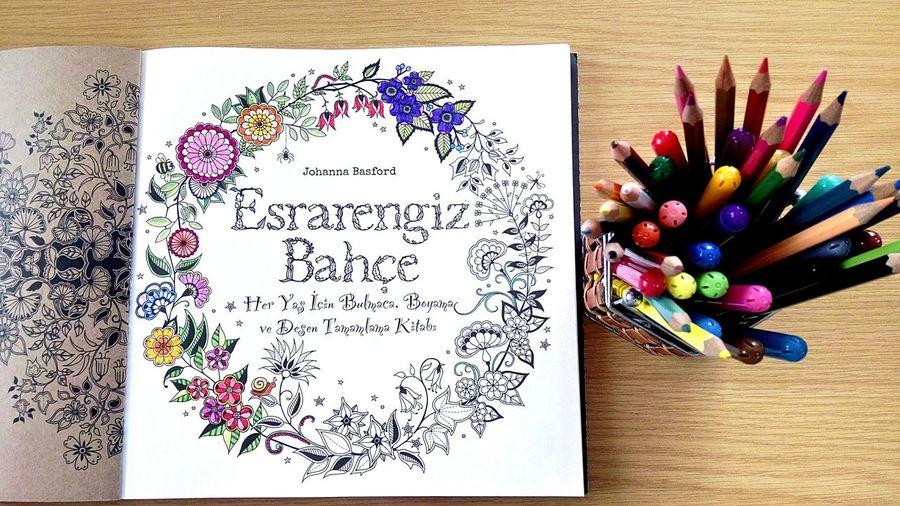 Yepyeni Hobim Esrarengizbahce Johannabasford Colorsbook 😍