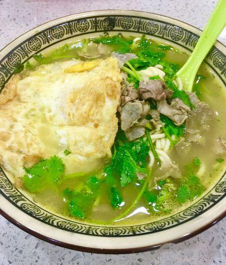 兰州拉面 Food And Drink 拉面 Food Ready-to-eat Stretched Noodles Lanzhou Stretched Noodles Coriander Chinese Food Beef Slices Delicious