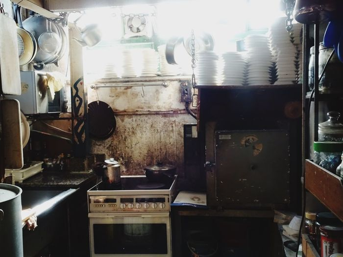 Tiny spaces, cozy places Cattle Depot Poor  Small Kitchen Artist Village Hong Kong Indoors  No People Day EyeEmNewHere