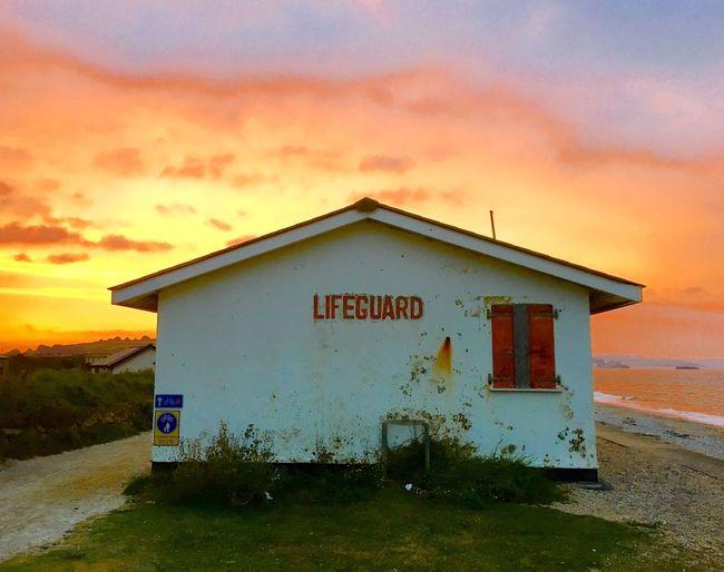 Sunset Dawn Seascape Seaside Life Is A Beach Lifeguard Station Lifeguard Tower Lifeguard Stand Lifeguard  Lifeguards Lifeguard Hut Lifeguard Station Silhouettes Lifeguard Stations At Sunset